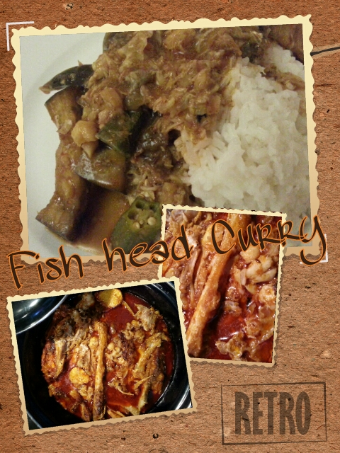 Southeast Asia, fish head curry, picsart