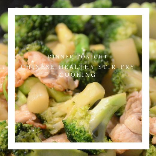 Chicken broccoli easy stir-fry recipe