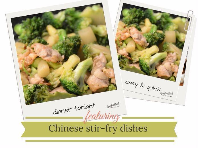 Chicken broccoli easy stir-fry