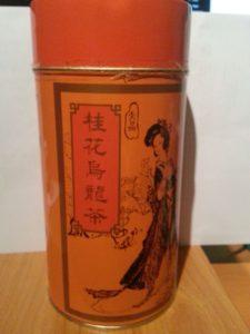 Osmanthus Oolong tea, Ten Ren Tea