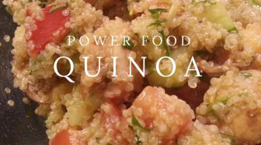Quinoa Tabbouleh Salad, Power food