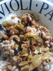 Blackbeans as comfort food