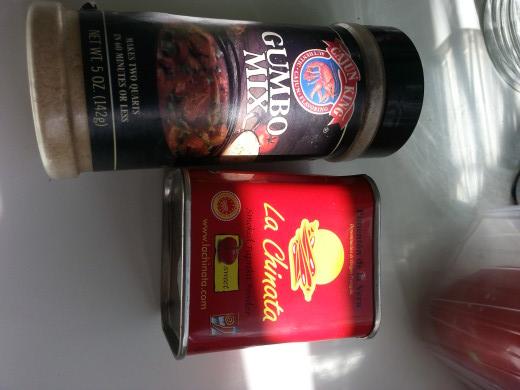 La Chinata smoked paprika powder and gumbo mix spice powder
