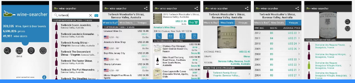 Wine Searcher Android apps op Google Play