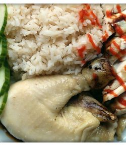 Hainan Chicken Rice recipe dinner tonight