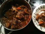 Chinese braised oxtail bones