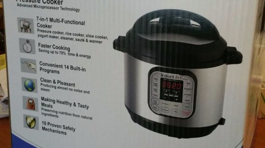 Unboxing Instant Pot DUO 7-1