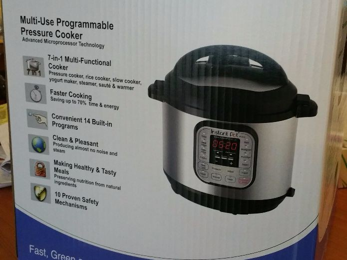 Unboxing Instant Pot, multi cooker