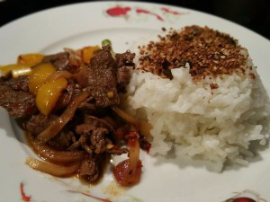 Spicy Hare SiChuan style