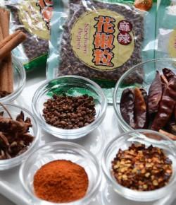 Ma La spices and spiciness Sichuan hot pot