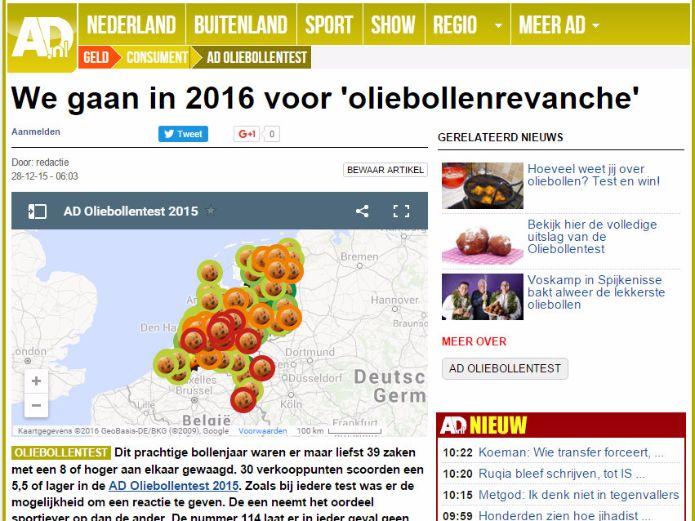 Oliebollen revanche AD.nl
