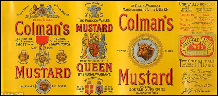 Coleman's Mustard, mustard powder