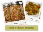 Zoetzure sauzen, picalilly, pickles