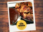 sticky BBQ wings, BBQ saus kippenvleugels