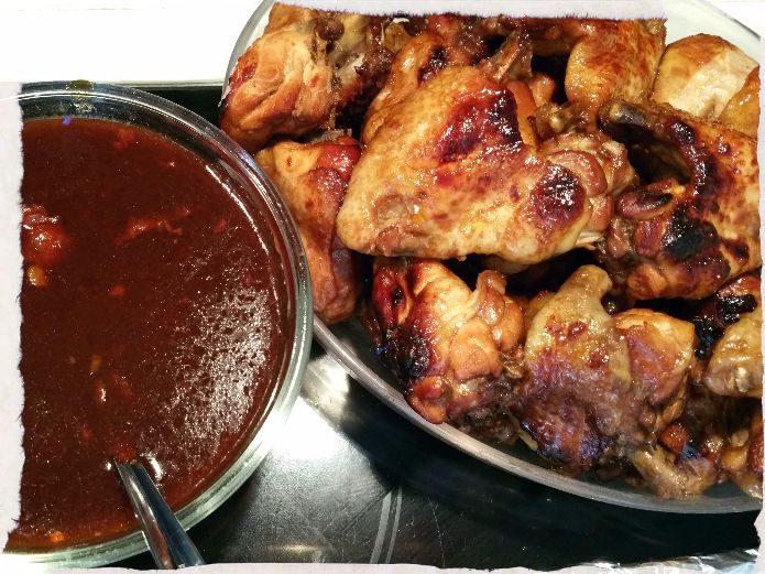 Sticky BBQ Chicken Wings