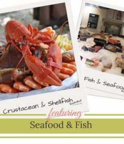Seafood and fish benefits a healthy diet