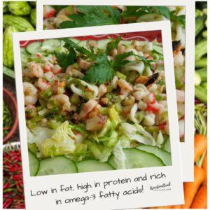 Seafood Salad Mix, recipe Asianfoodtrail