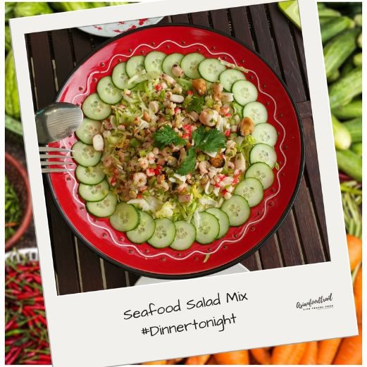 Seafood Salad Recipe Asianfoodtrail