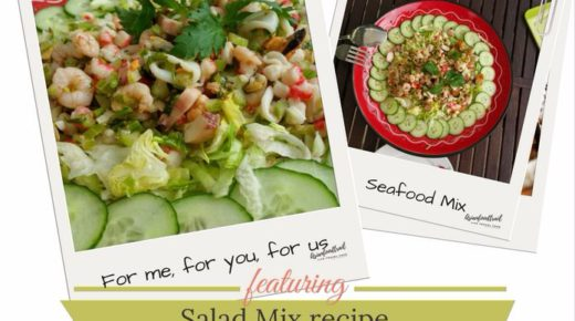 Seafood Salad Recipe with 4 dressings